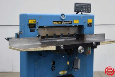 "Challenge 305 MCPB 30.5"" Hydraulic Paper Cutter - 010320125015"