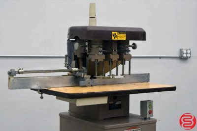 Challenge EH-3A Three Spindle Hydraulic Paper Drill - 012820122435