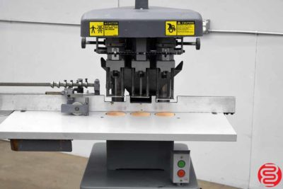 Challenge EH-3A Three Spindle Hydraulic Paper Drill - 013120102535