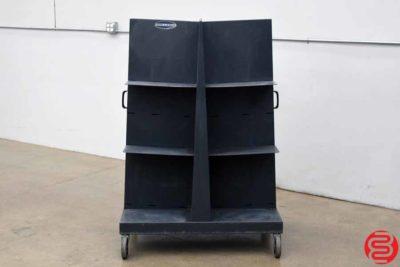 Challenge Quadracart Paper Bindery Cart - 011620044105