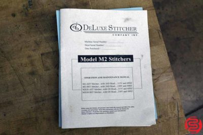 Deluxe M2 Flat Book Saddle Stitcher - 011320081300