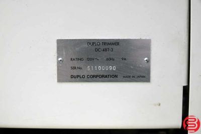 Duplo DC-10000S 10 Bin Booklet Making System - 122719090215