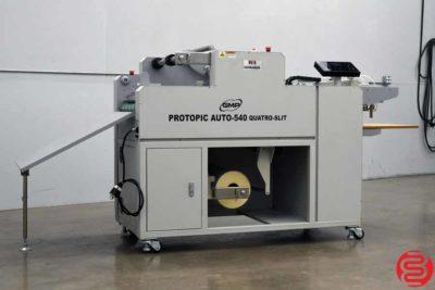 GMP Protopic Auto-540 Quatro-Slit Laminating System - 011120080705