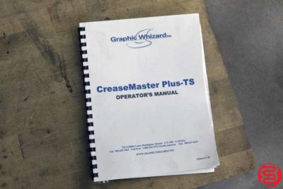 Graphic Whizard Creasemaster Plus Vacuum Feed Impact Creaser - 010920093805