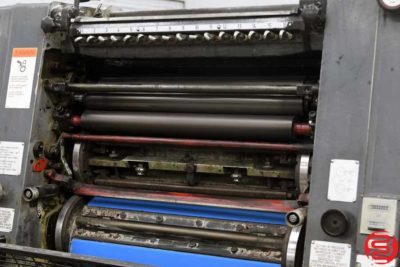 Heidelberg GTOVP 52 Four Color Offset Press - 010720094735