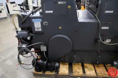 Heidelberg GTOZP 46 Two Color Offset Printing Press - 122719094230