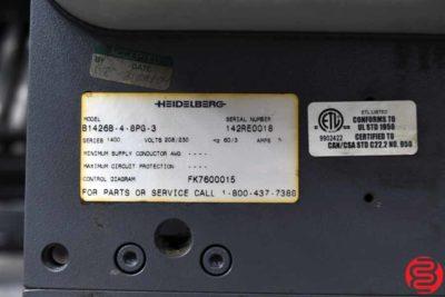 Heidelberg Stahlfolder B30 Continuous Feed Paper Folder - 010320083525