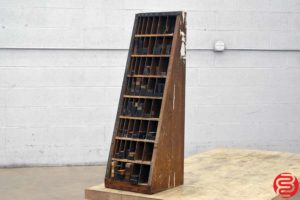Letterpress Wood Furniture Cabinet - 010720080535