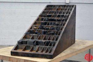 Letterpress Wood Furniture Cabinet - 010720081050