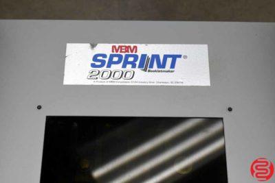 MBM Sprint 2000 Booklet Maker - 011820121815