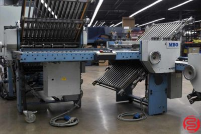 MBO T65 Continuous Feed Paper Folder - 012220123715