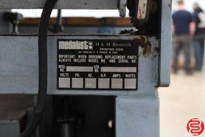 Medalist V-14 Automatic Screen Printing Machine - 010820023235