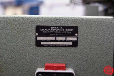 Mueller Martini Prince 1296 3-Clamp Perfect Binder - 012720125930