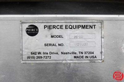 Pierce PS-10 Rotary Numbering System - 011720015655