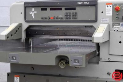 Polar 92 EM Programmable Paper Cutter - 011020094445