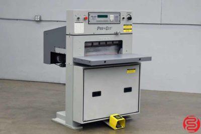 Pro-Cut 235 Hydraulic Programmable Paper Cutter - 010920084230