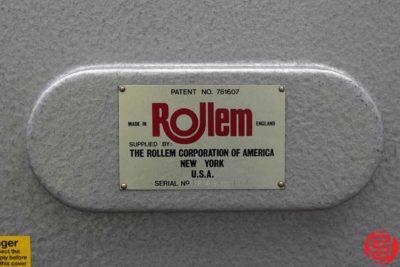 Rollem Model TR Perf Slit Score Machine - 123019102545