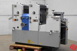 Ryobi 3302H Two Color Offset Printing Press - 012420101815