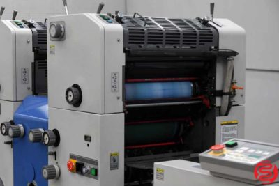 Ryobi 3302H Two Color Offset Printing Press - 012920011820