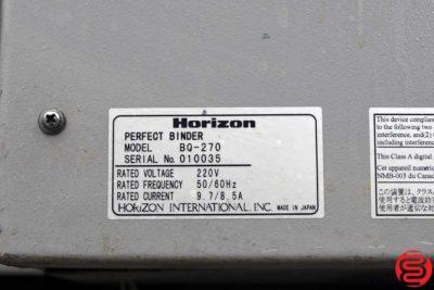 Standard Horizon BQ-270 Perfect Binder - 011320103500