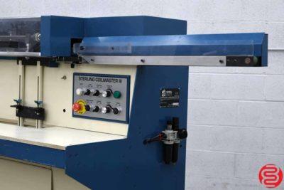 Sterling Coilmaster III In-line Plastic Coil Binding Machine - 011420114135
