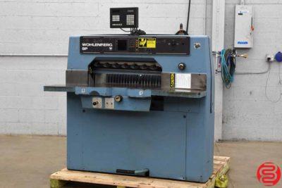 Wohlenberg 76 SPM Programmable Paper Cutter - 013120092640