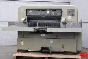 1981 Polar 115 EMC Programmable Paper Cutter - 021020113725