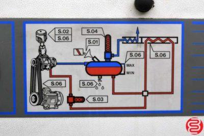 2001 Curtis KS 15 Rotary Screw Air Compressor - 020420011845