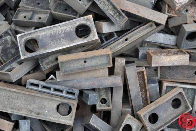 Assorted Metal Letterpress Furniture - 314 lbs - 022020033450