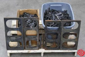 Assorted Metal Letterpress Furniture - 338 lbs - 022020032520