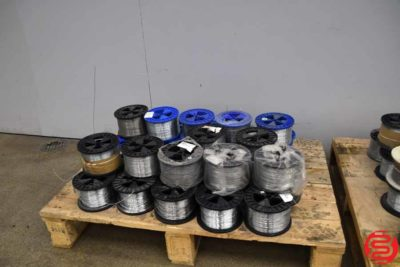 Assorted Wire Spools for Stitchers - 020520042121