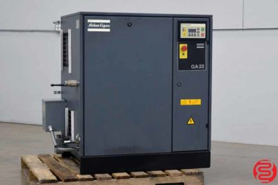 Atlas Copco GA 22 Rotary Screw Air Compressor - 020420030205