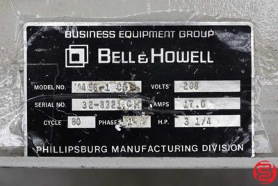 Bell and Howell A496 8 Pocket Inserter - 020320013305