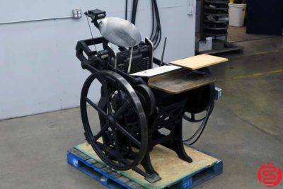 Chandler and Price Platen Press - 021820022940