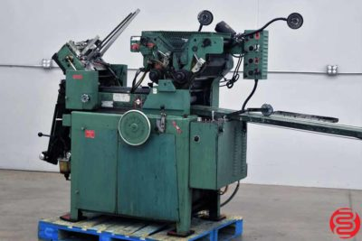 Halm Jet TWOD-D Two Color High Speed Envelope Press - 021720110350