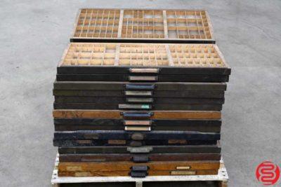 Hamilton Letterpress Case - Qty 30 - 022020015205