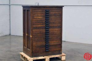 Hamilton Letterpress Type Cabinet - 20 Drawers - 021920013910