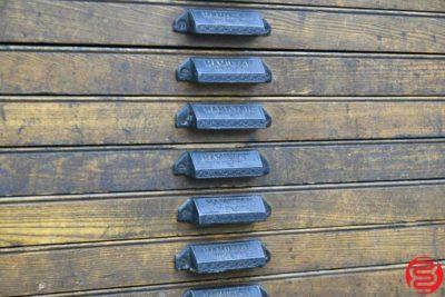 Hamilton Letterpress Type Cabinet - 20 Drawers - 021920013910