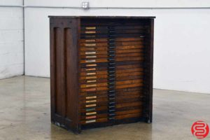 Hamilton Letterpress Type Cabinet - 24 Drawers - 021920125210
