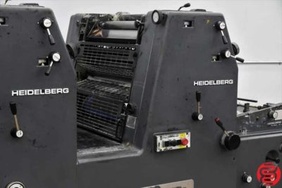 Heidelberg GTOZP 52 Two Color Offset Printing Press - 021120023405