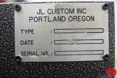 JL Custom HHS Inline Gluer - 021520073640