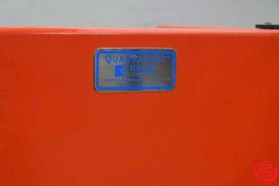 Kansa Quadracart Paper Bindery Cart - 020620041135