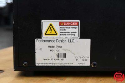 Rhin-O-Tuff Onyx HD-7700 Ultima Paper Punch - 021920074750