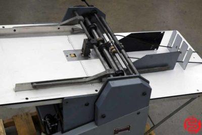 Rosback 220 True Line Perforator Perf Slit Score Machine - 020420024825
