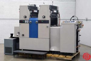 Ryobi 512 Two Color Offset Printing Press - 020120100810