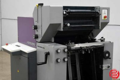 1997 Heidelberg Quickmaster QM 46-2 Two Color Printing Press - 030620011655