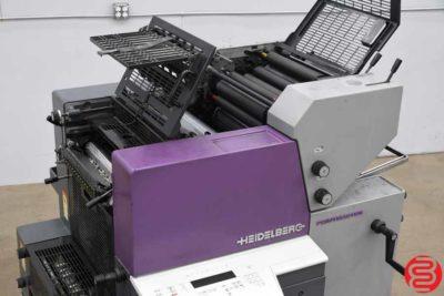 1999 Heidelberg Printmaster QM 46-2 Two Color Printing Press - 022820115640