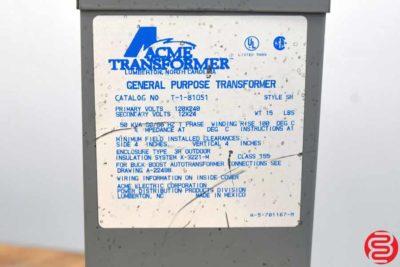 Acme T-1-81051 Transformer - 032620113730