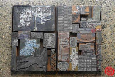 Assorted Letterpress Cuts - 022420084230
