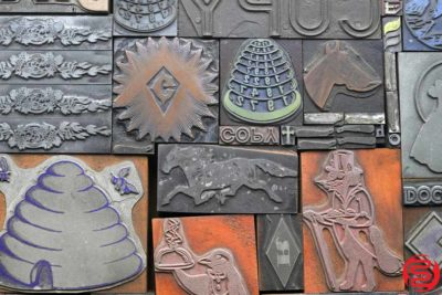 Assorted Letterpress Cuts and Ornaments - 032720021500